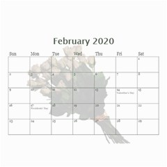 Jane Roses For You (any Year) 2020 Calendar 8 5x6 By Deborah   Wall Calendar 8 5  X 6    Docs3wc7apgl   Www Artscow Com Feb 2020
