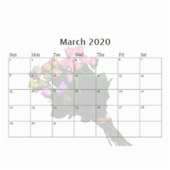 Jane Roses For You (any Year) 2020 Calendar 8 5x6 By Deborah   Wall Calendar 8 5  X 6    Docs3wc7apgl   Www Artscow Com Mar 2020