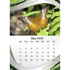 Jane Green Wave Desktop Calendar 2020 (6x8 5) By Deborah May 2020