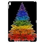 rainbow christmas tree Apple iPad Pro 10.5   Black UV Print Case