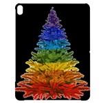 rainbow christmas tree Apple iPad Pro 12.9   Black UV Print Case