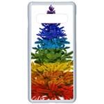 rainbow christmas tree Samsung Galaxy S10 Seamless Case(White)