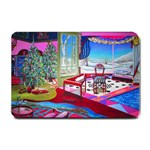 Christmas Ornaments and Gifts Small Doormat