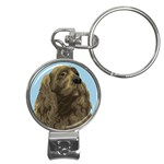 spaniel Nail Clippers Key Chain