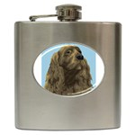 spaniel Hip Flask (6 oz)