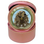 spaniel Jewelry Case Clock