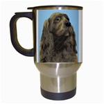 spaniel Travel Mug (White)