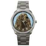 spaniel Sport Metal Watch