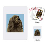 spaniel Playing Cards Single Design