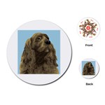 spaniel Playing Cards (Round)