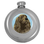 spaniel Hip Flask (5 oz)