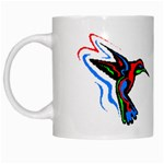 hummingbird White Mug