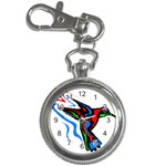 hummingbird Key Chain Watch