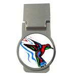hummingbird Money Clip (Round)