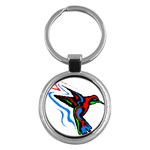 hummingbird Key Chain (Round)