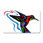 hummingbird Magnet (Rectangular)