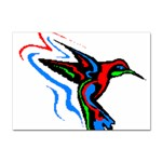 hummingbird Sticker A4 (100 pack)