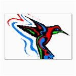 hummingbird Postcards 5  x 7  (Pkg of 10)