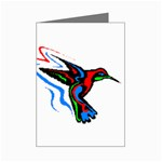 hummingbird Mini Greeting Card