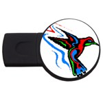 hummingbird USB Flash Drive Round (1 GB)