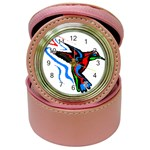 hummingbird Jewelry Case Clock