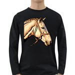 Horse Long Sleeve Dark T-Shirt