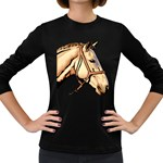 Horse Women s Long Sleeve Dark T-Shirt