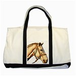 Horse Two Tone Tote Bag
