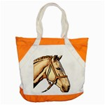 Horse Accent Tote Bag