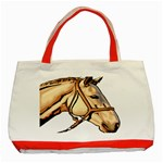 Horse Classic Tote Bag (Red)