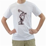 sculpture White T-Shirt