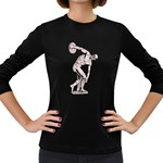 sculpture Women s Long Sleeve Dark T-Shirt
