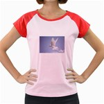 Dove Women s Cap Sleeve T-Shirt