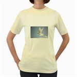 Dove Women s Yellow T-Shirt