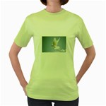Dove Women s Green T-Shirt