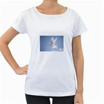 Dove Maternity White T-Shirt
