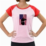 flag Women s Cap Sleeve T-Shirt