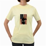 flag Women s Yellow T-Shirt