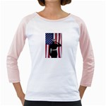 flag Girly Raglan