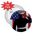 flag 2.25  Button (100 pack)