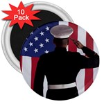 flag 3  Magnet (10 pack)