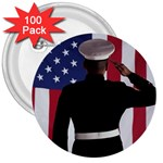 flag 3  Button (100 pack)