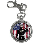 flag Key Chain Watch