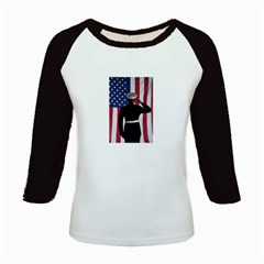 flag Kids Baseball Jersey by fayetteamcreate