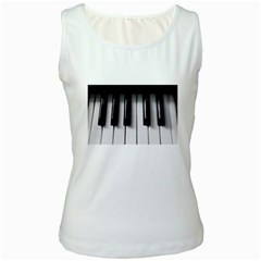 piano keys Women s Tank Top from ArtsNow.com Front