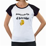 beer beauty large Women s Cap Sleeve T