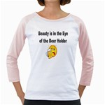 beer beauty large Girly Raglan