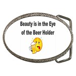 beer beauty large Belt Buckle