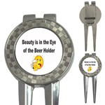 beer beauty large 3-in-1 Golf Divot