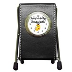 beer beauty large Pen Holder Desk Clock